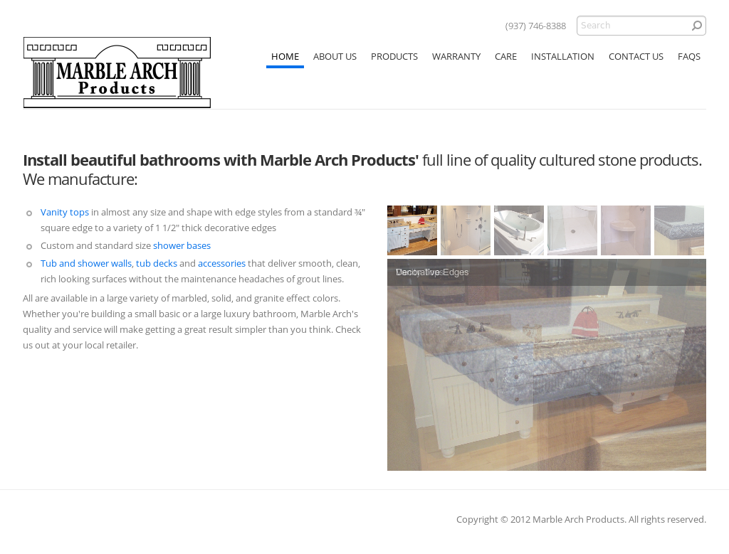 Marble Arch Products Compeors