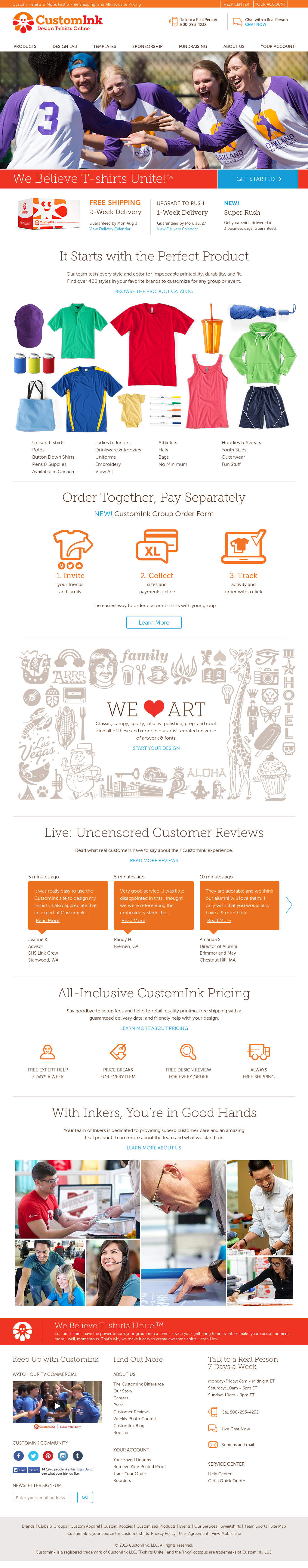 a846544b1 CustomInk Competitors, Revenue and Employees - Owler Company Profile