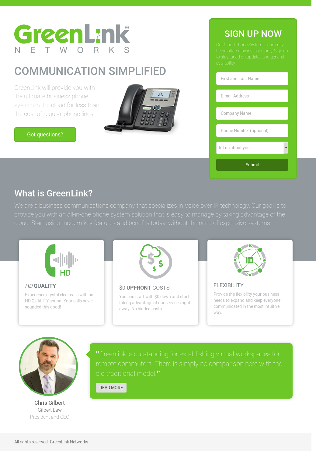 GREENLINK NETWORKS Competitors, Revenue and Employees