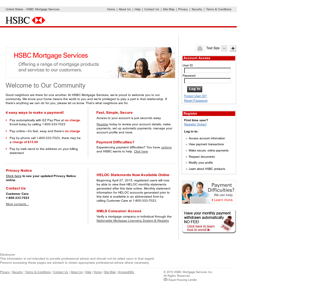 HSBC Mortgage Services Competitors, Revenue and Employees