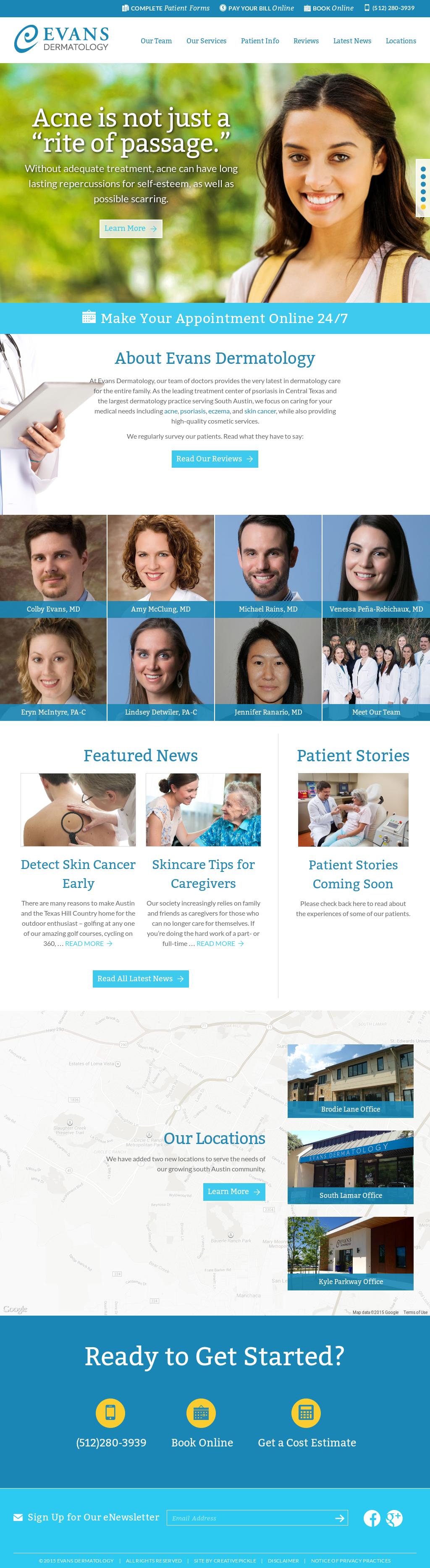 Evans Dermatology Partners Competitors, Revenue and