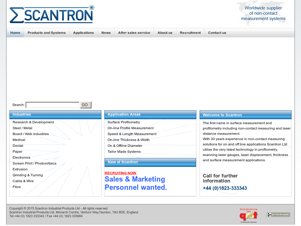 Scantron Industrial Products Competitors, Revenue and