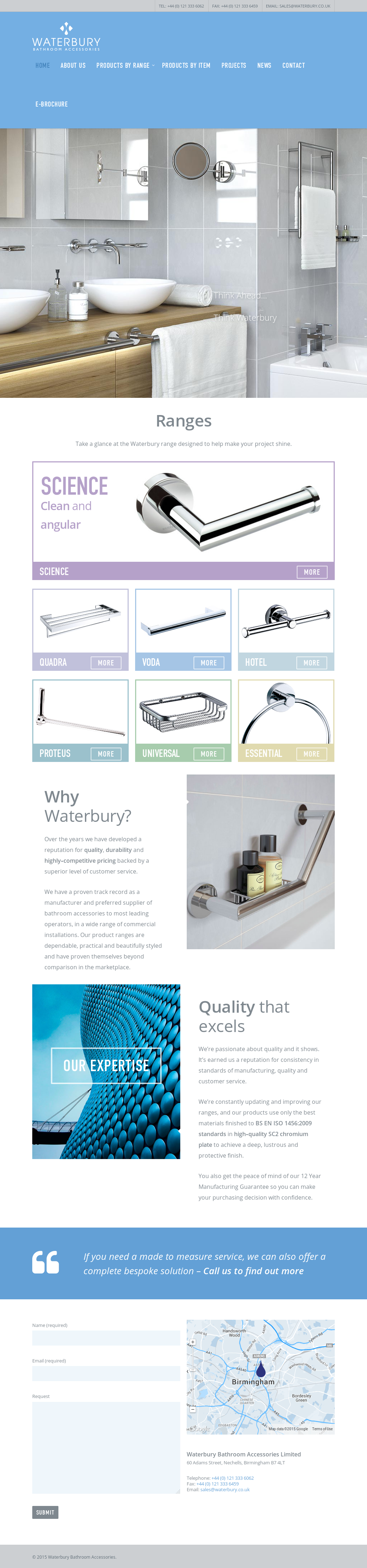 WATERBURY BATHROOM ACCESSORIES Competitors, Revenue and Employees ...