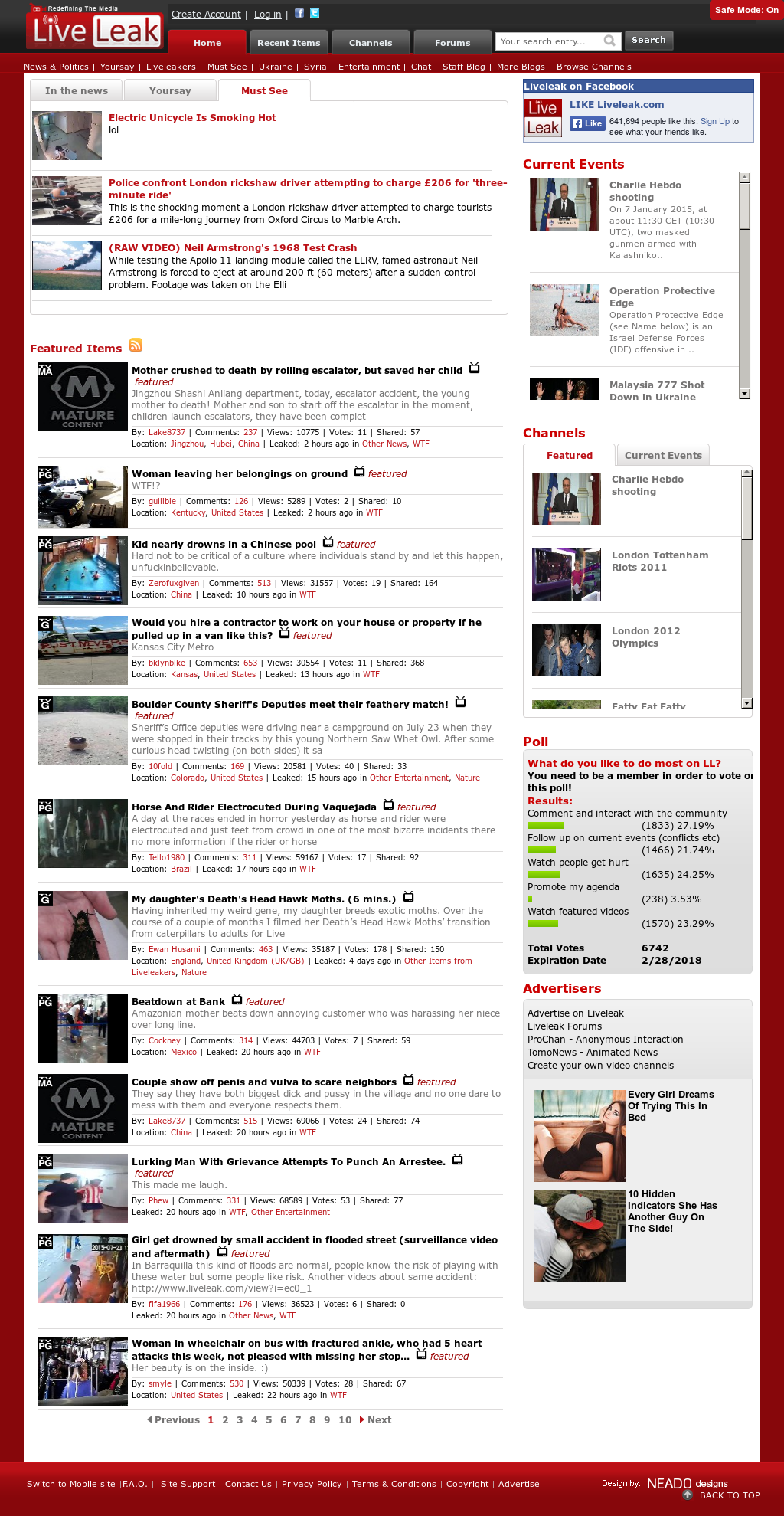 Liveleak Competitors, Revenue and Employees - Owler Company Profile