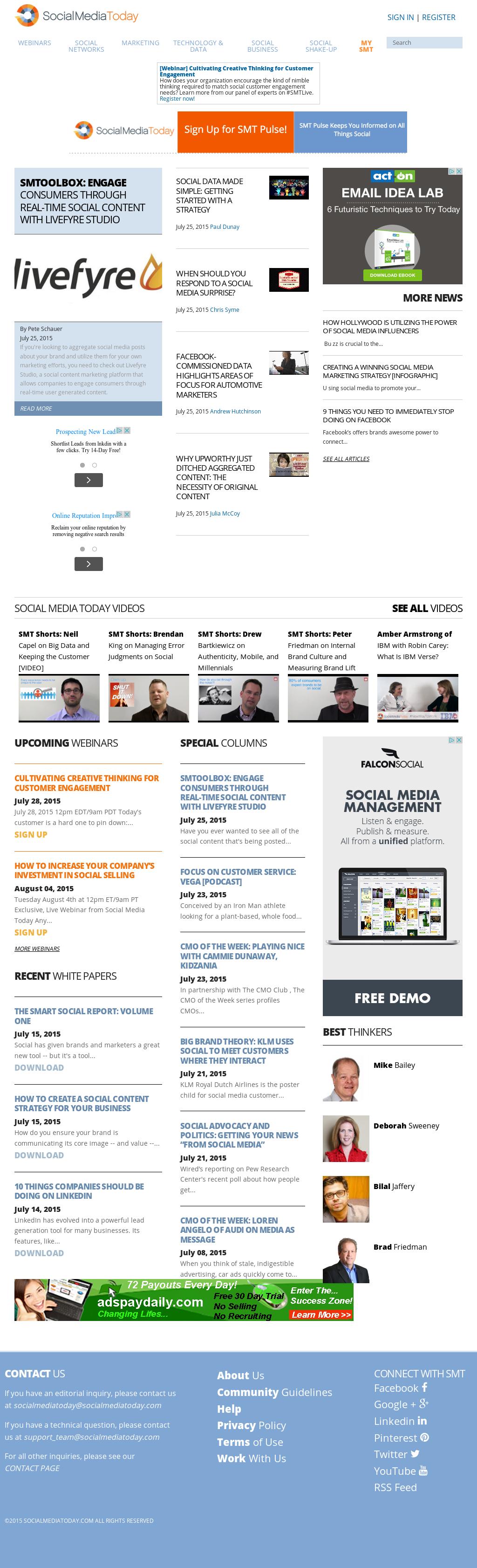 social media company profile pdf