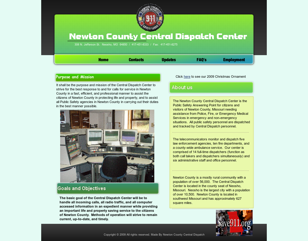Newton County Central Dispatch Competitors, Revenue and Employees