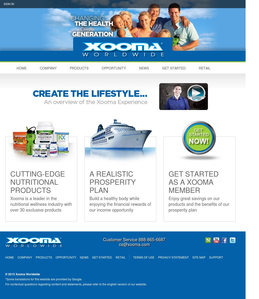 Xooma worldwide address