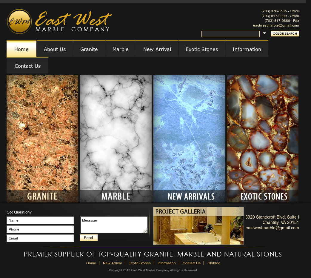East West Marble Company Compeors Revenue And Employees Owler Profile