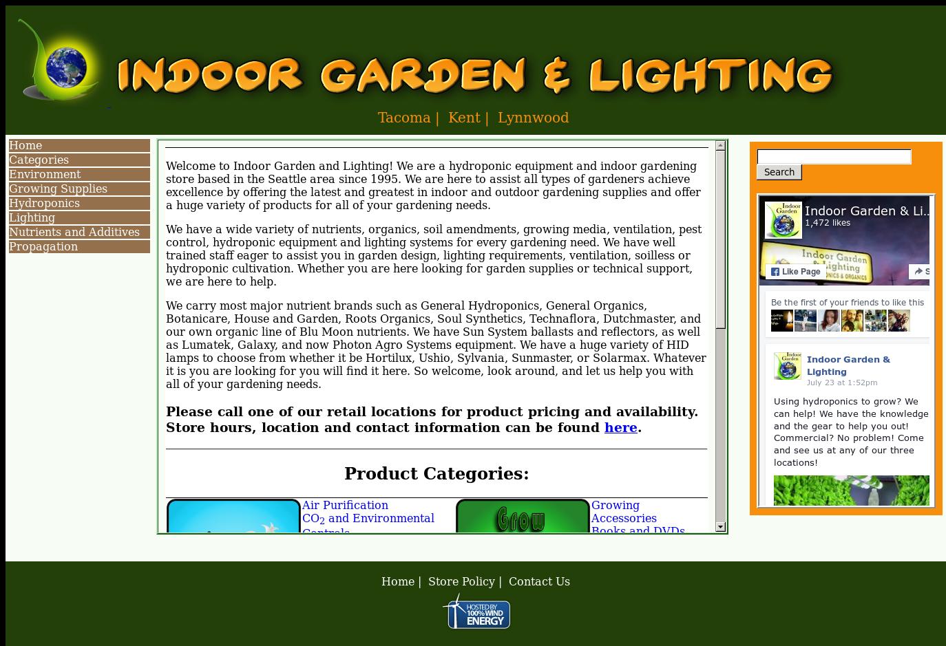 Indoor Garden & Lighting Competitors, Revenue and Employees - Owler