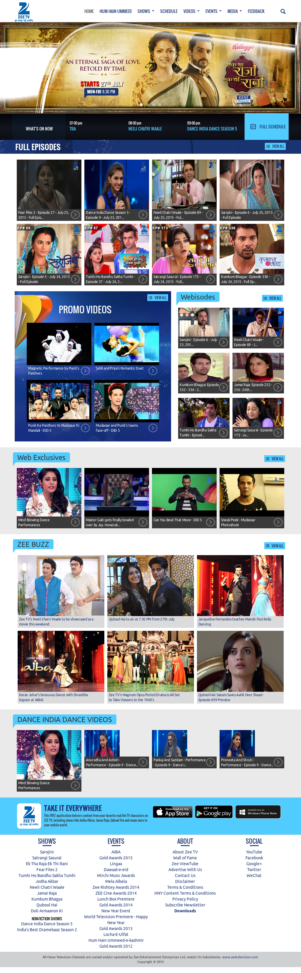 Zee TV Competitors, Revenue and Employees - Owler Company Profile