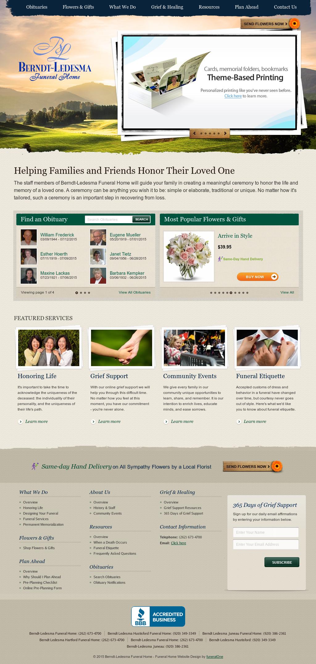 Berndt Ledesma Funeral Home Competitors, Revenue And ...