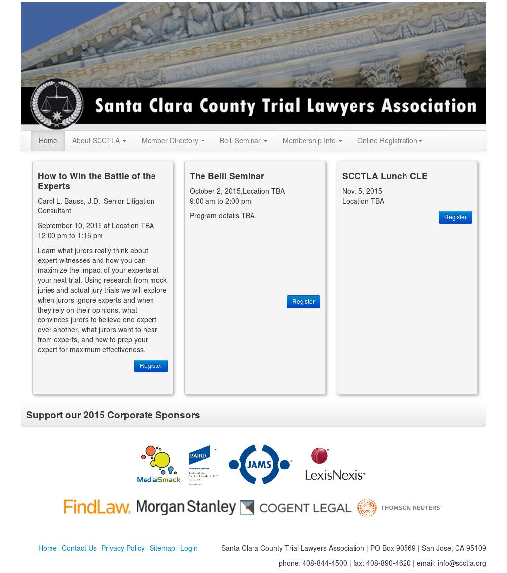 Santa Clara County Trial Lawyers Association Competitors, Revenue