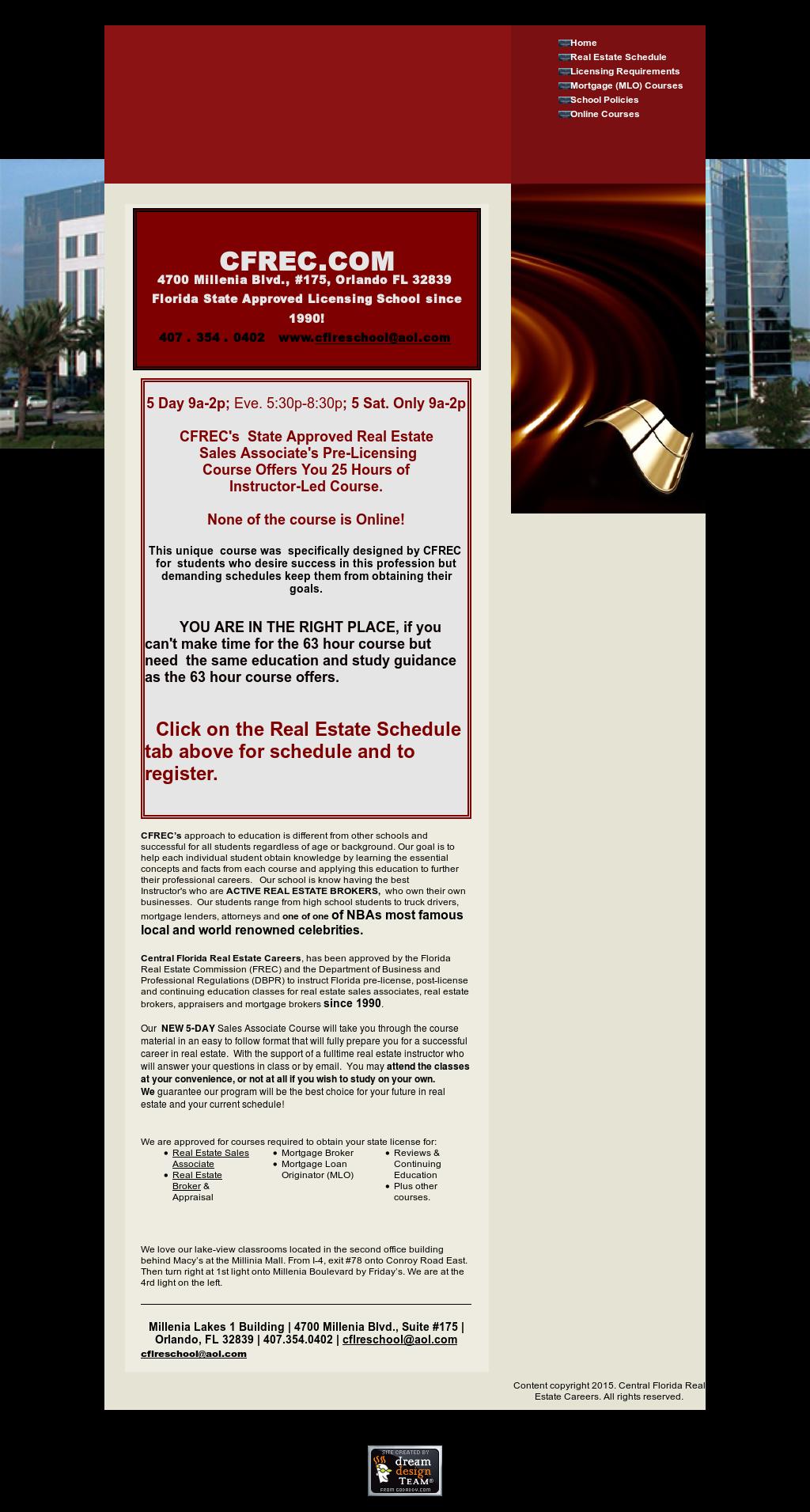 Central Florida Real Estate School & Mortgage Broker School
