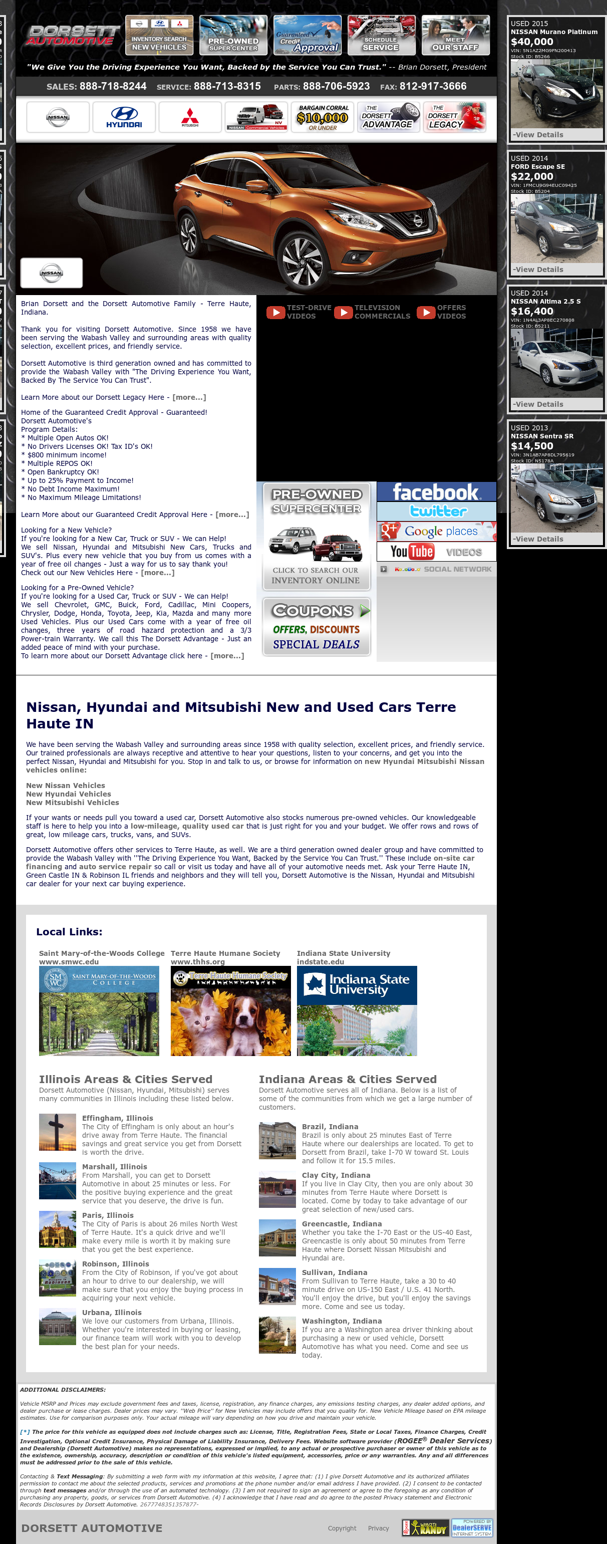Dorsett Terre Haute >> Dorsett Mitsubishi Competitors Revenue And Employees