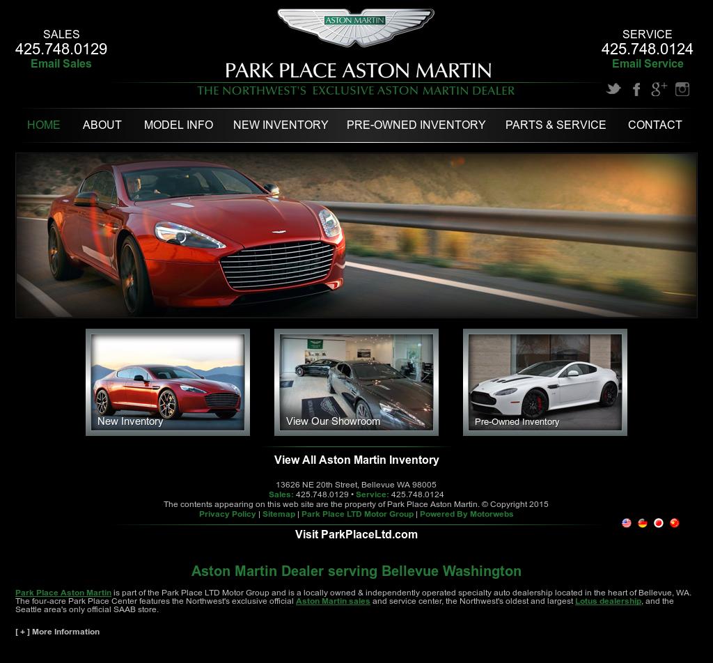 Park Place Aston Martin Competitors Revenue And Employees Owler - Park place aston martin