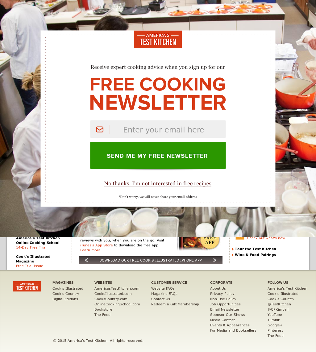 America\'s Test Kitchen Competitors, Revenue and Employees - Owler ...