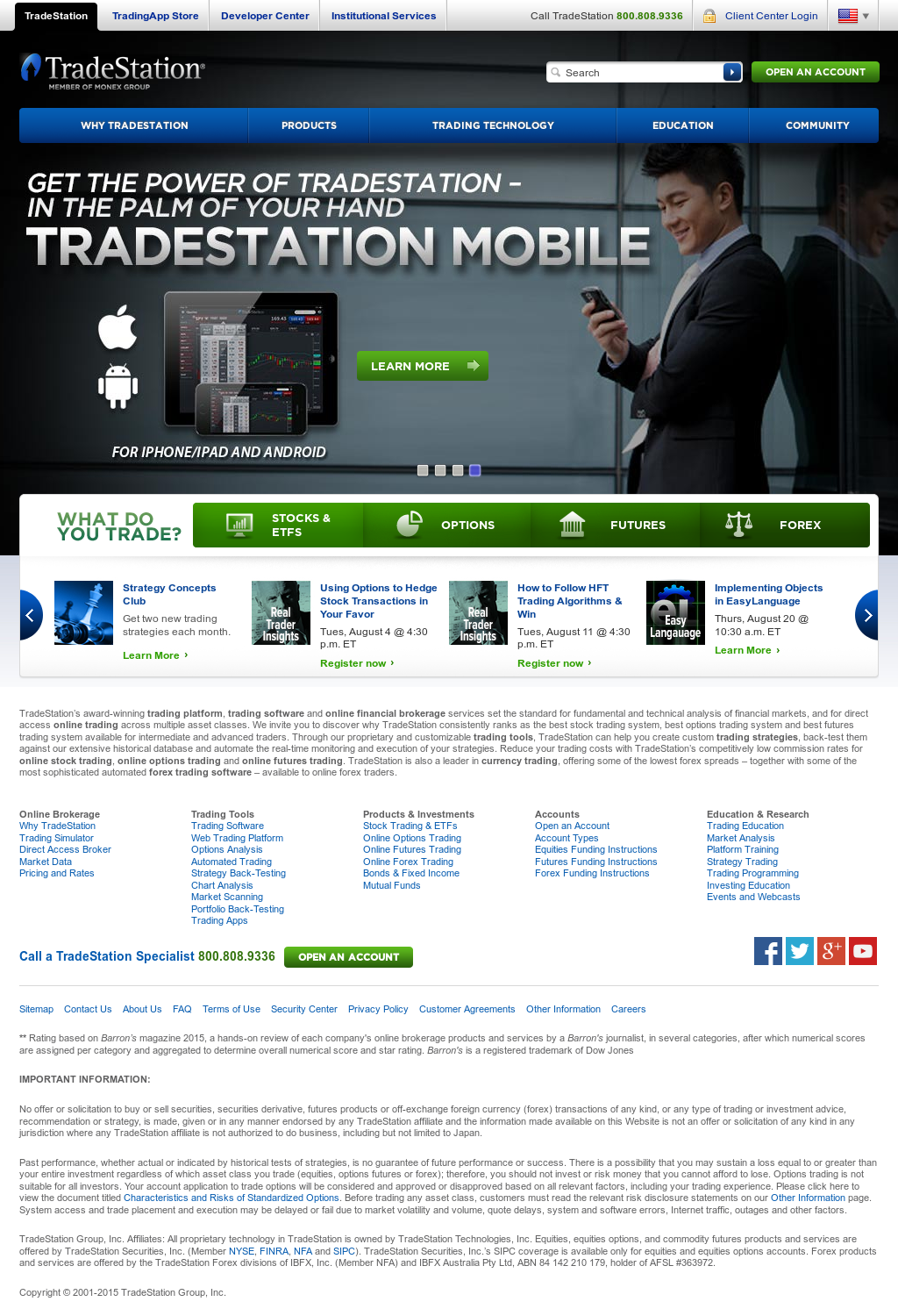 TradeStation Competitors, Revenue and Employees - Owler