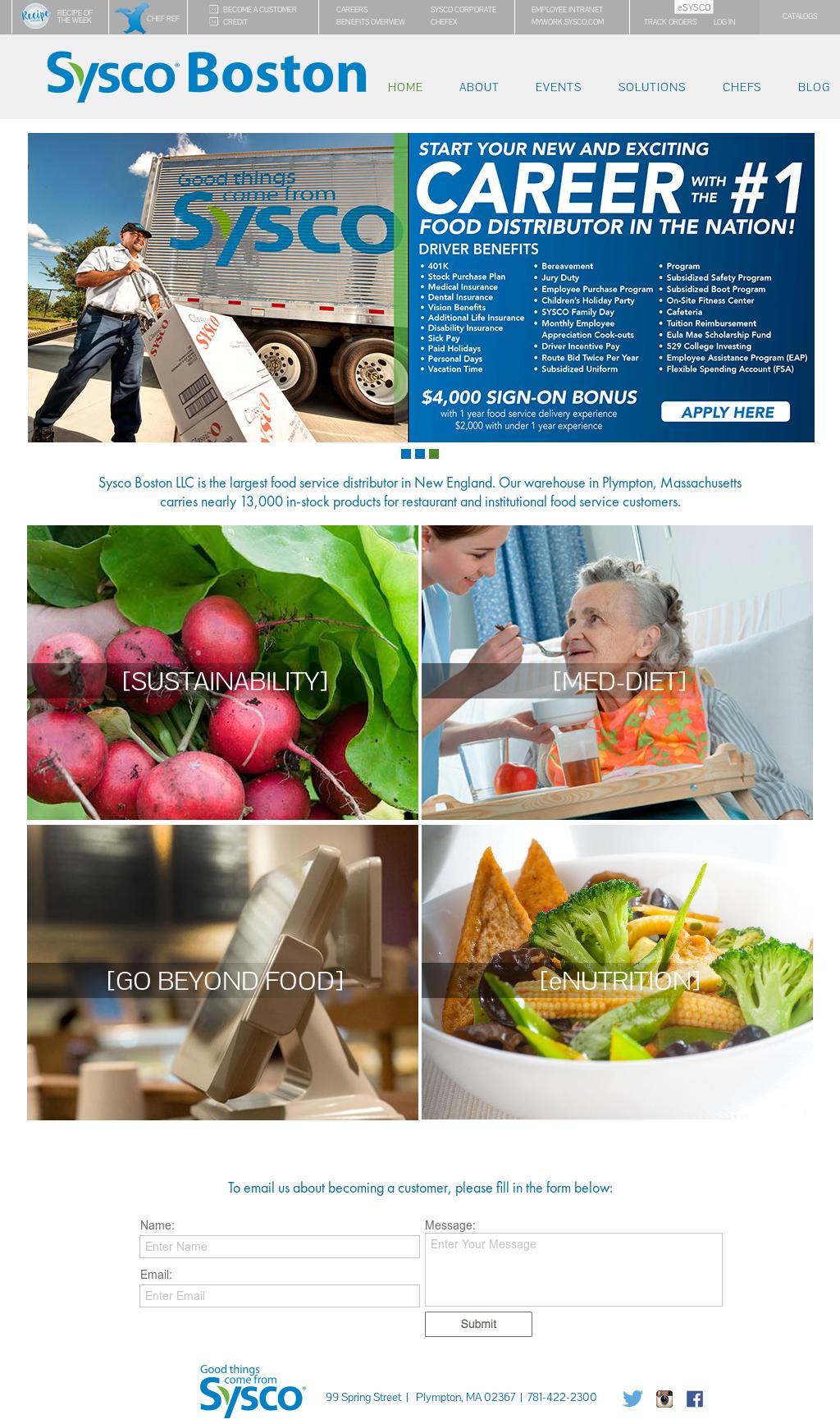 Sysco Boston Competitors, Revenue and Employees - Owler Company Profile