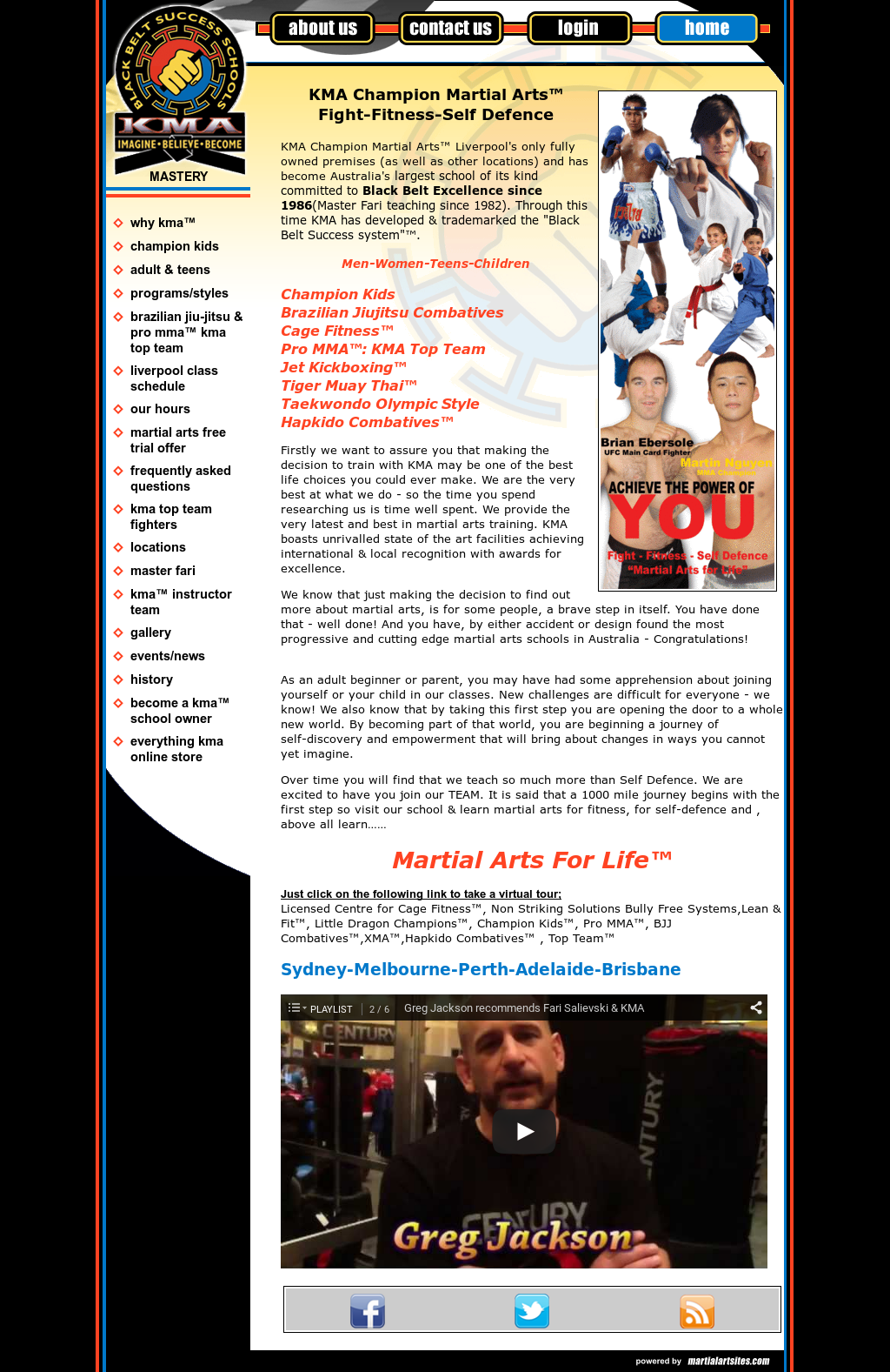 Kma- Martial Arts For Life Competitors, Revenue and Employees