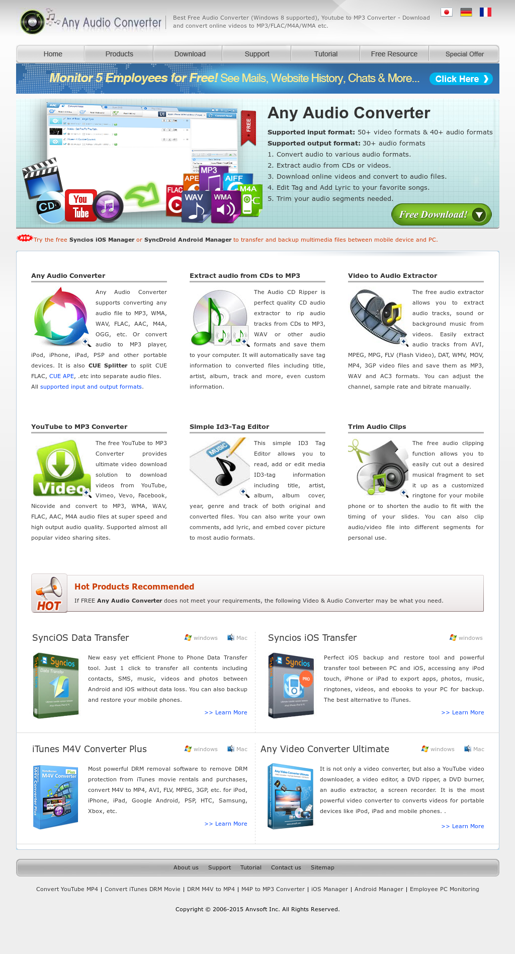 Any Audio Converter Competitors, Revenue and Employees - Owler
