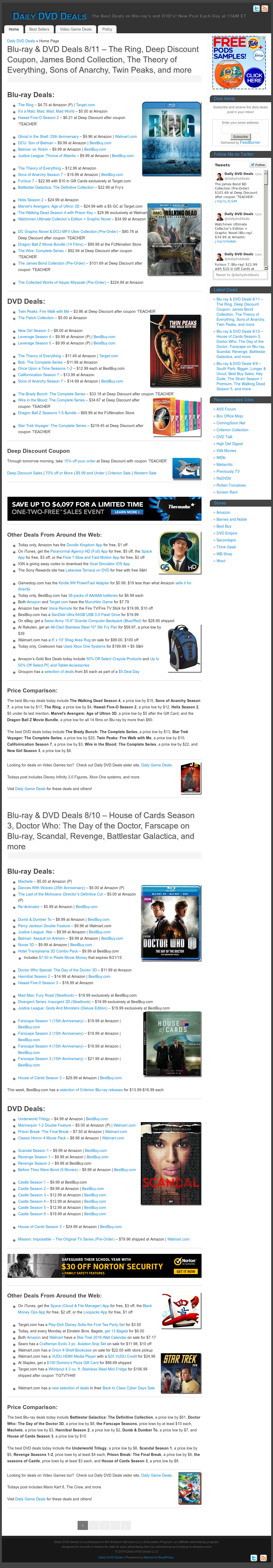 Dailydvddeals Competitors, Revenue and Employees - Owler