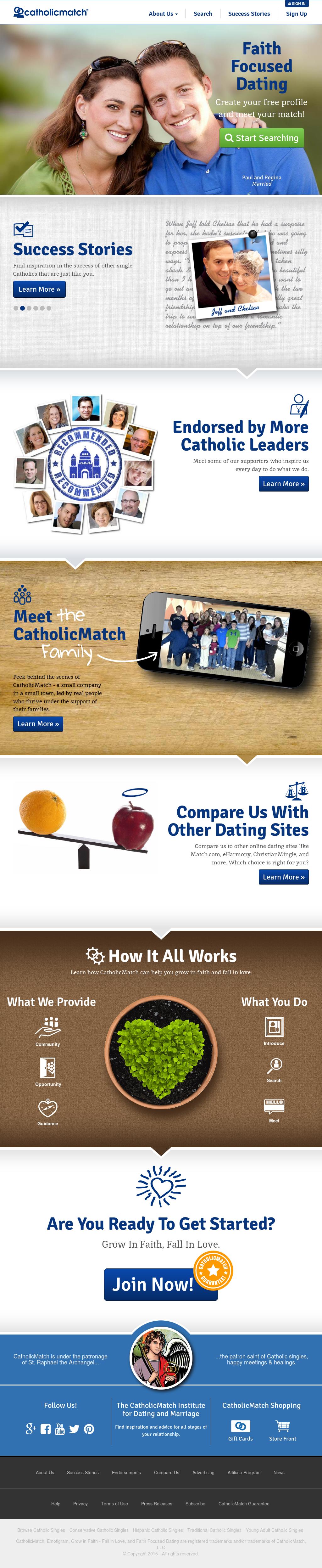 Catholic match com sign in