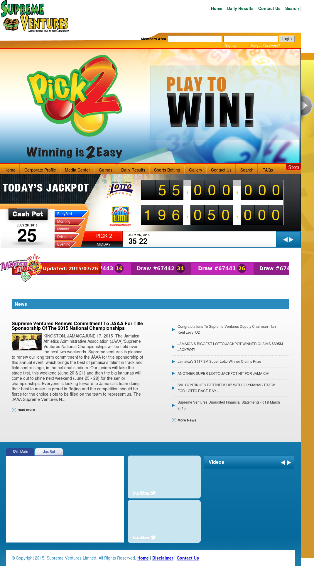 Supreme ventures betting programmed sports betting software australia zoo