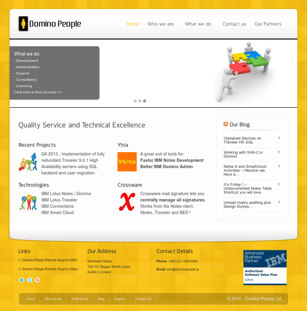 Domino People Competitors, Revenue and Employees - Owler Company Profile