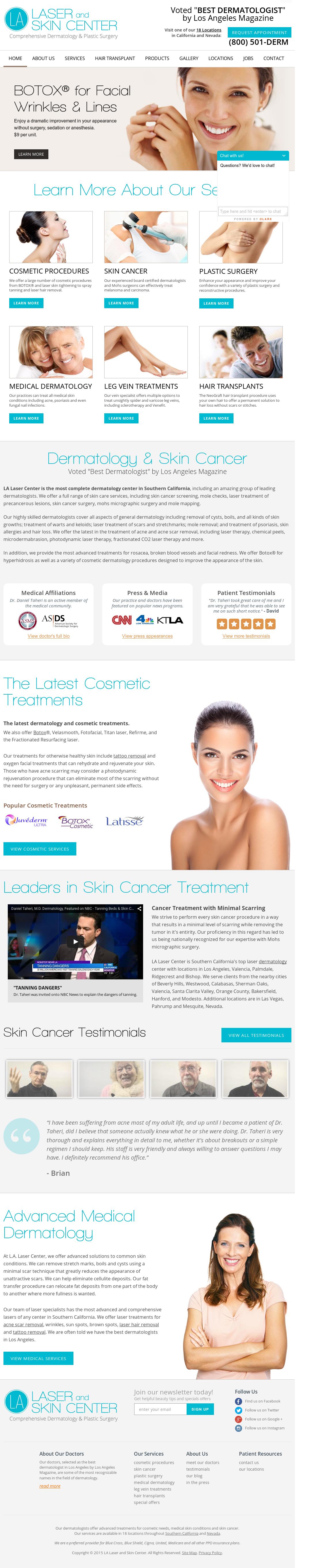 Owler Reports - La Laser And Skin Center: Dr  Daniel Taheri and LA