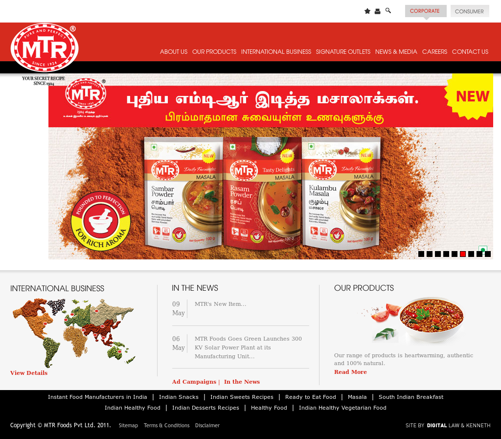 MTR Foods Competitors, Revenue and Employees - Owler Company