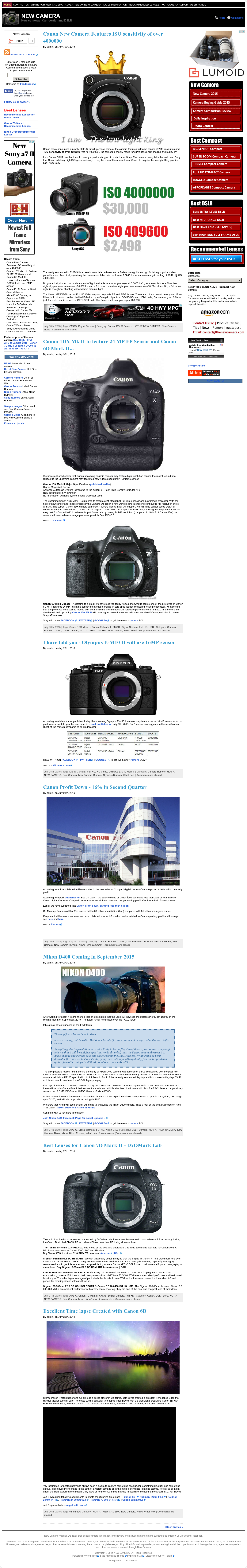 New Camera Competitors, Revenue and Employees - Owler