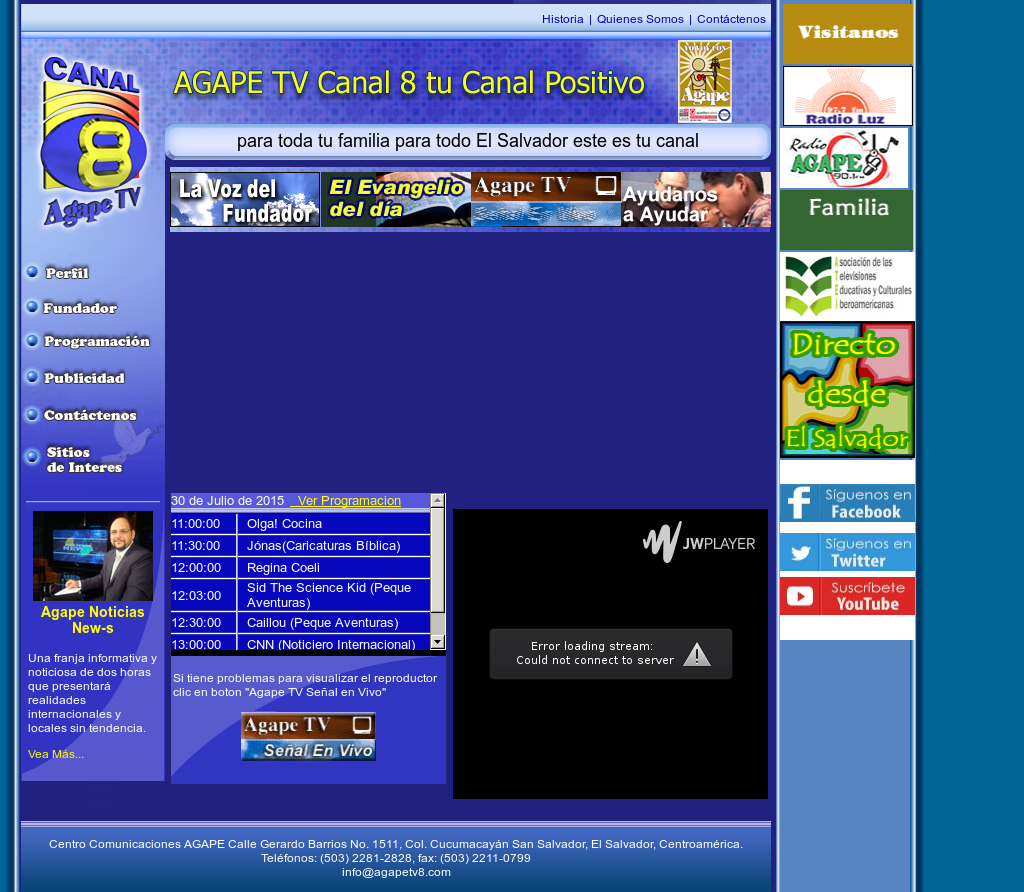 Agape Tv Canal 8 Competitors, Revenue and Employees - Owler