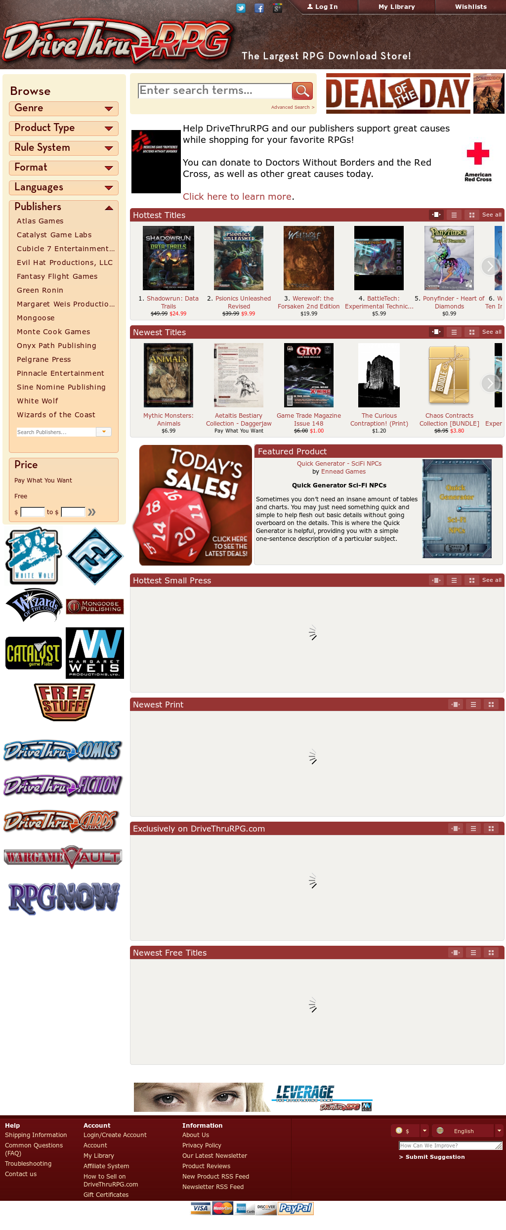 Drivethrurpg Competitors, Revenue and Employees - Owler