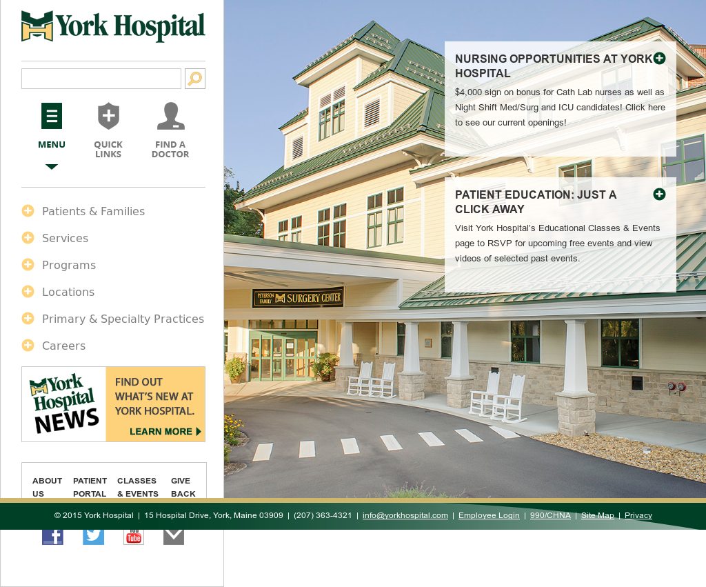 Yorkhospital Competitors, Revenue and Employees - Owler