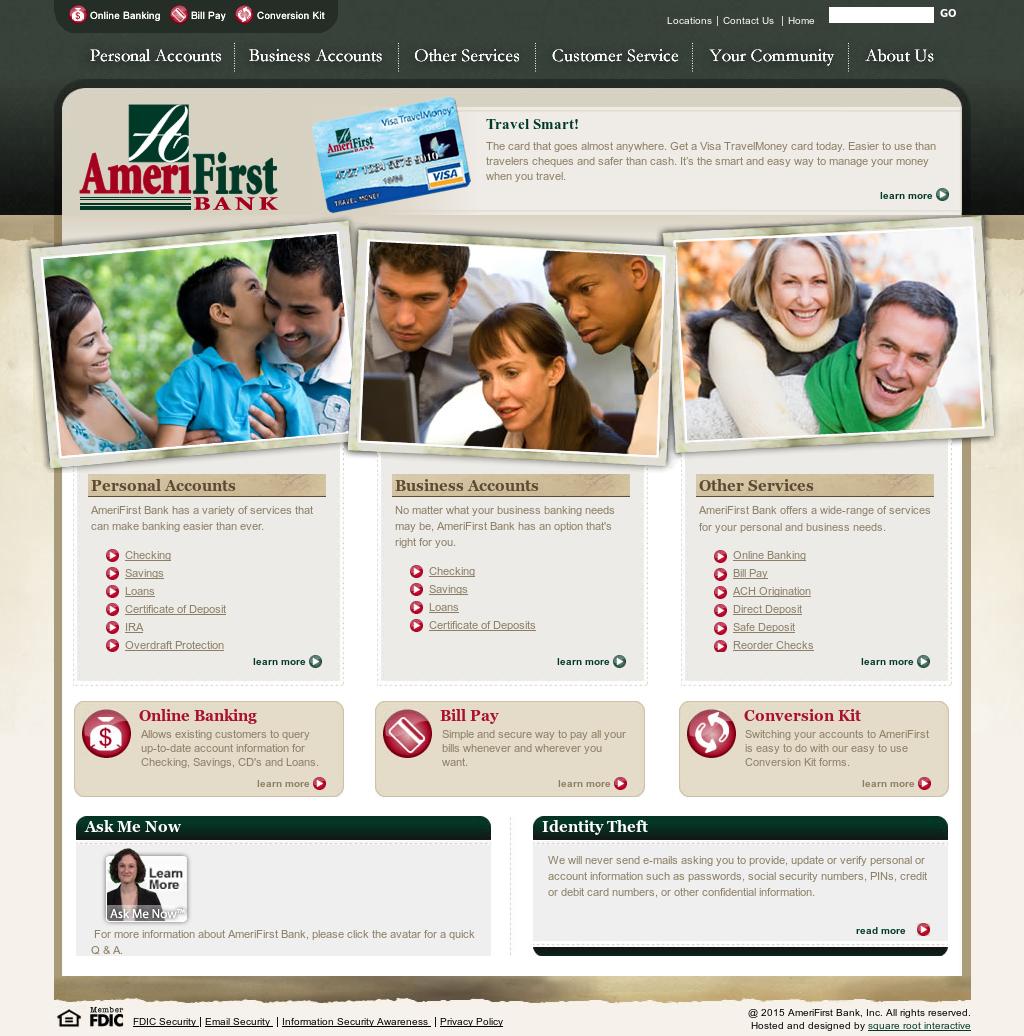 AmeriFirst Bank Personal Loans