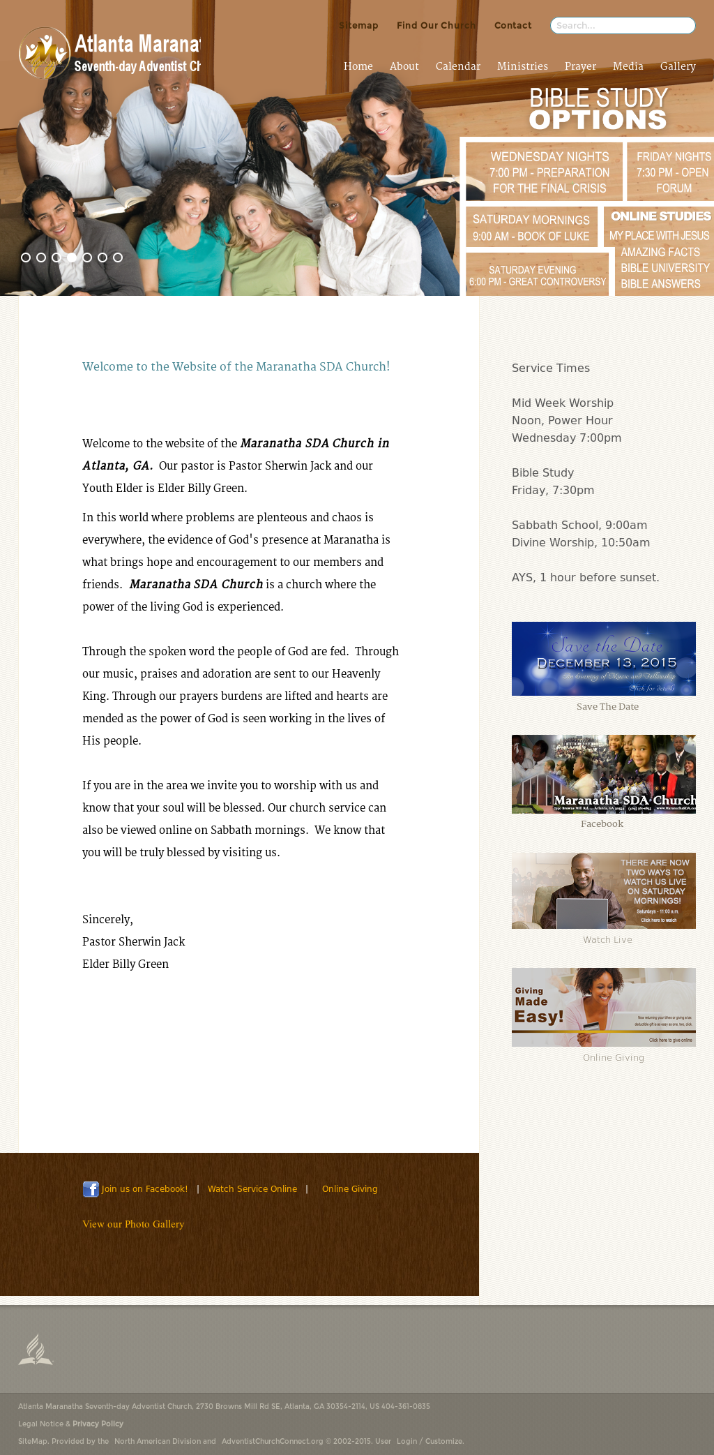 Atlanta Maranatha Sda Church Competitors, Revenue and