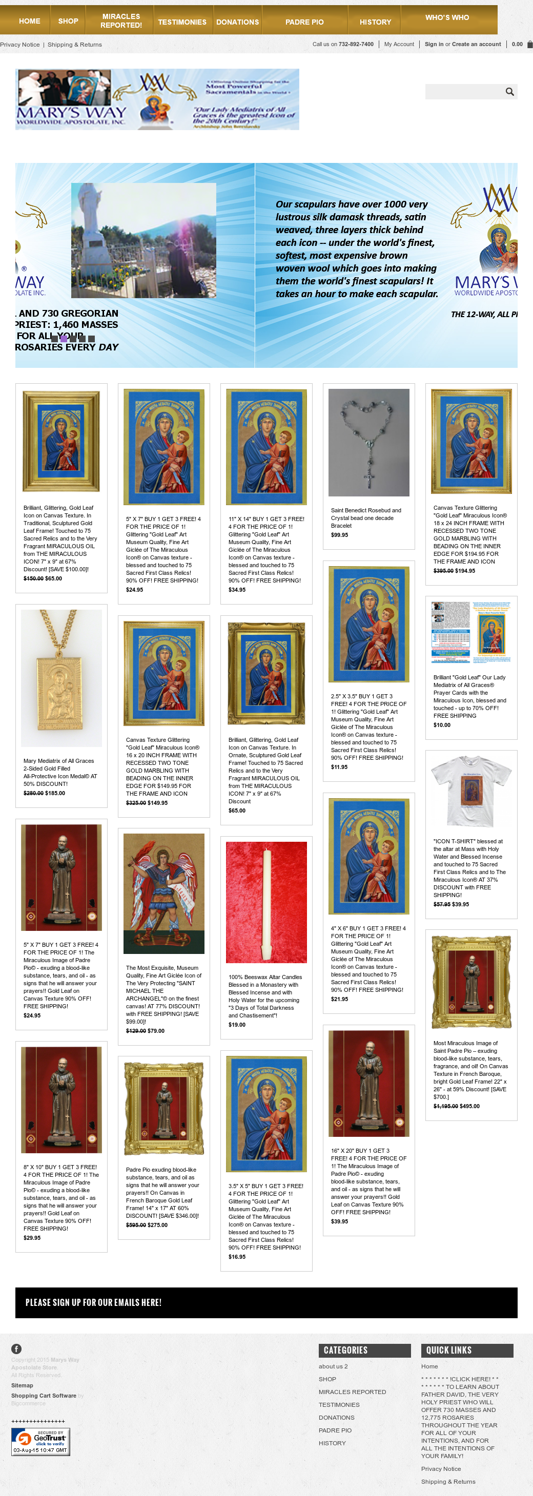 Mary's Way Worldwide Apostolate Competitors, Revenue and