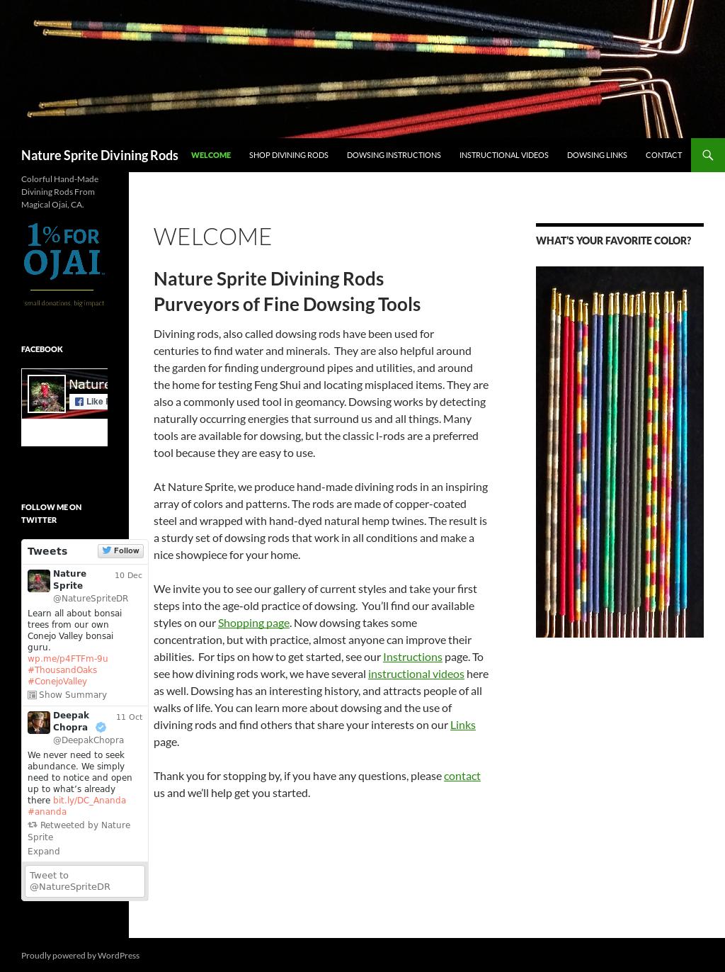 Nature Sprite Divining Rods Competitors, Revenue and