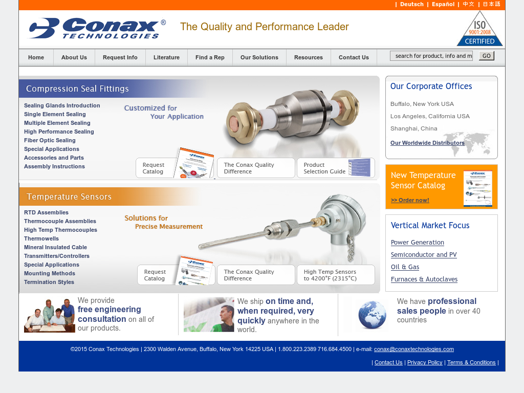 Conax Technologies Competitors, Revenue and Employees