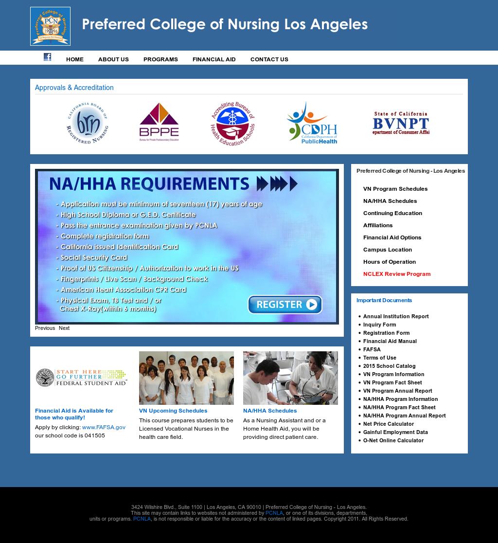 Preferred College Of Nursing La Competitors Revenue And Employees