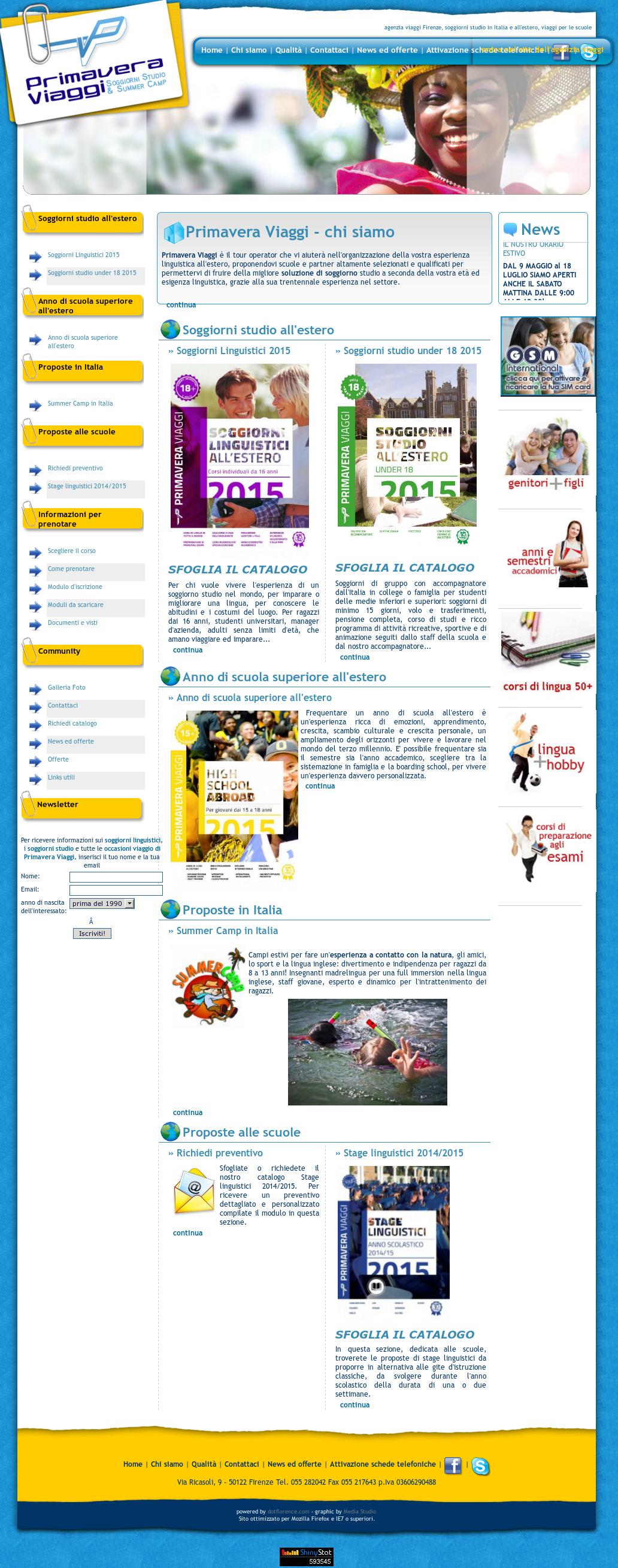 Primavera Viaggi Soggiorni Studio Competitors, Revenue and ...