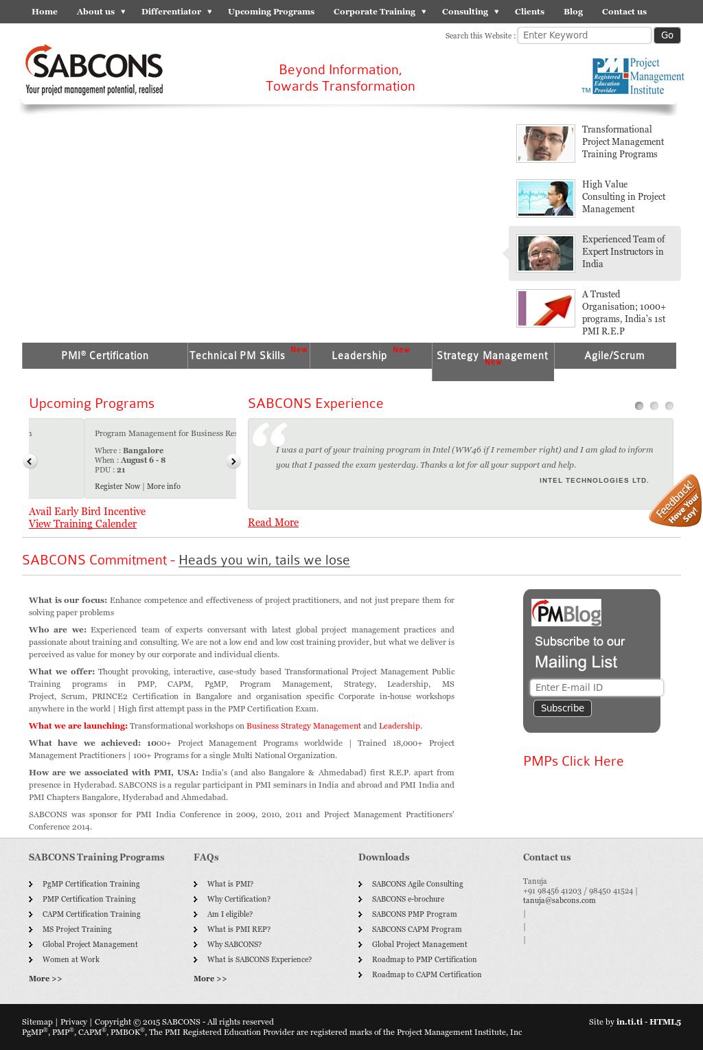 Sabcons Project Management Consultants Competitors Revenue And