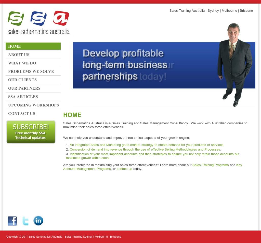 Sales Schematics Australia Competitors, Revenue and
