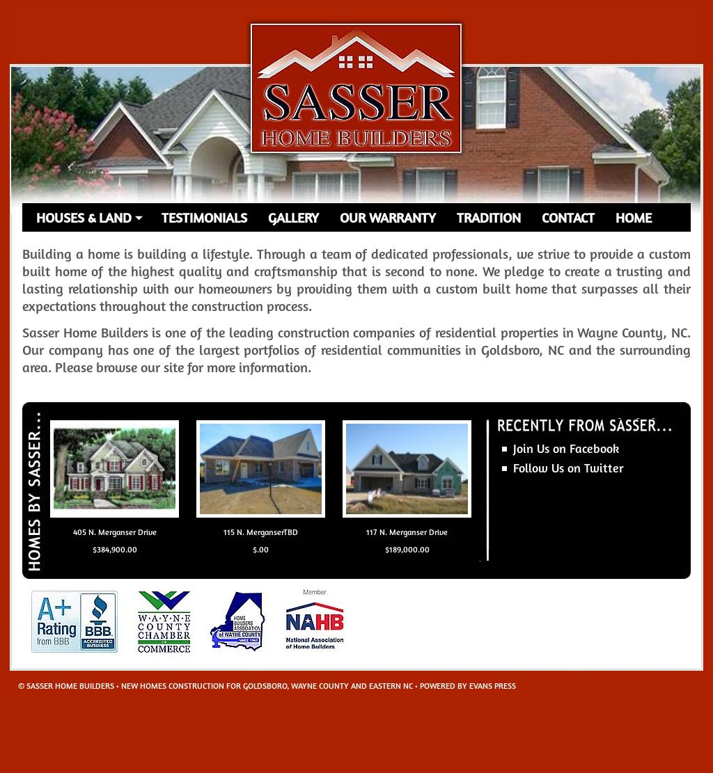 Sasser home builders avie home for Lawrence custom homes spokane