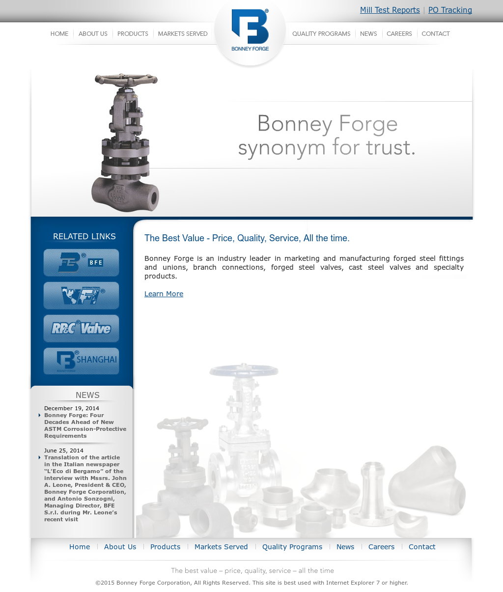 Bonney Forge Competitors, Revenue and Employees - Owler