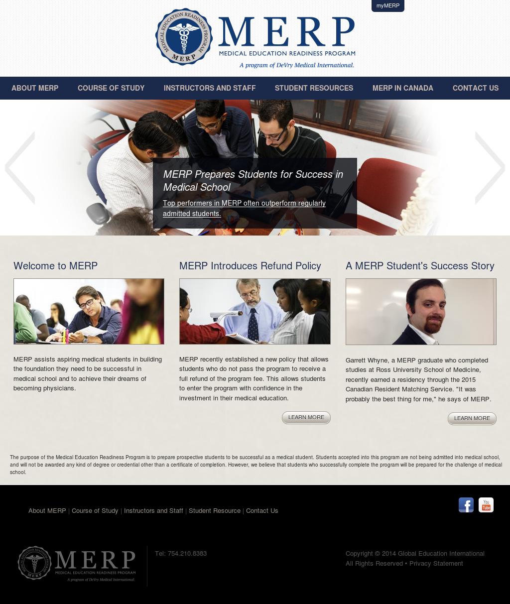 Medical Education Readiness Program