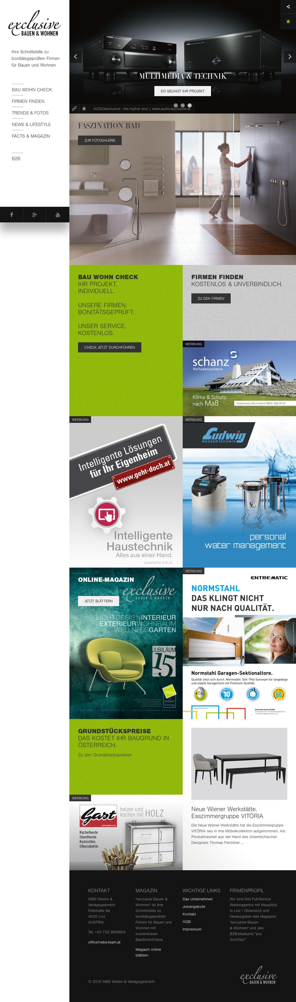 Fachzeitschrift Exclusive Bauen Und Wohnen Competitors Revenue And