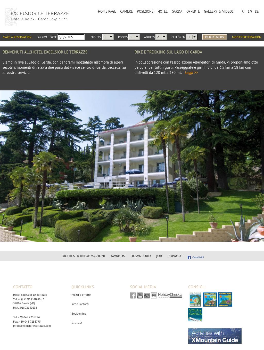 Hotel Excelsior Le Terrazze Competitors Revenue And