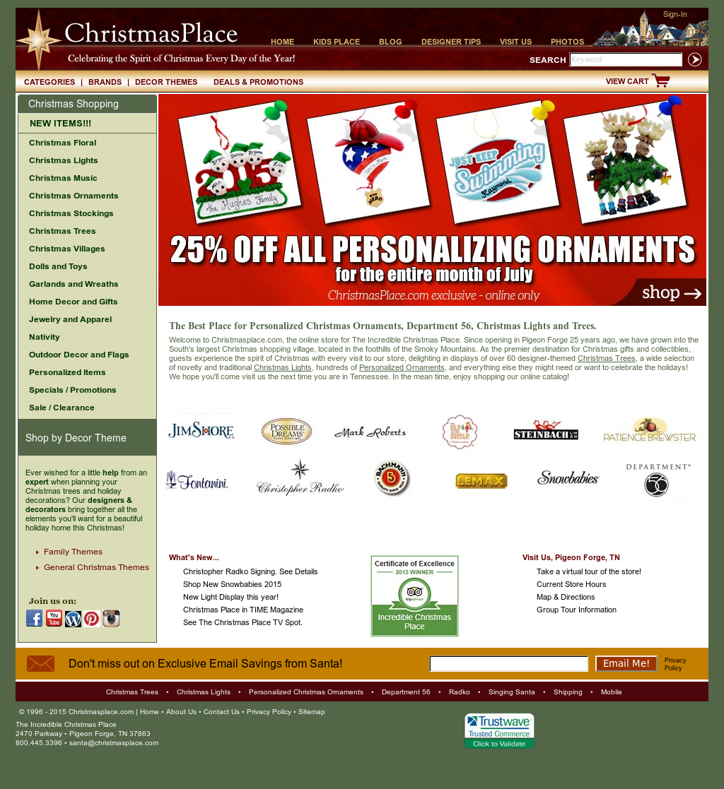 Christmas Place Competitors, Revenue and Employees - Owler Company ...