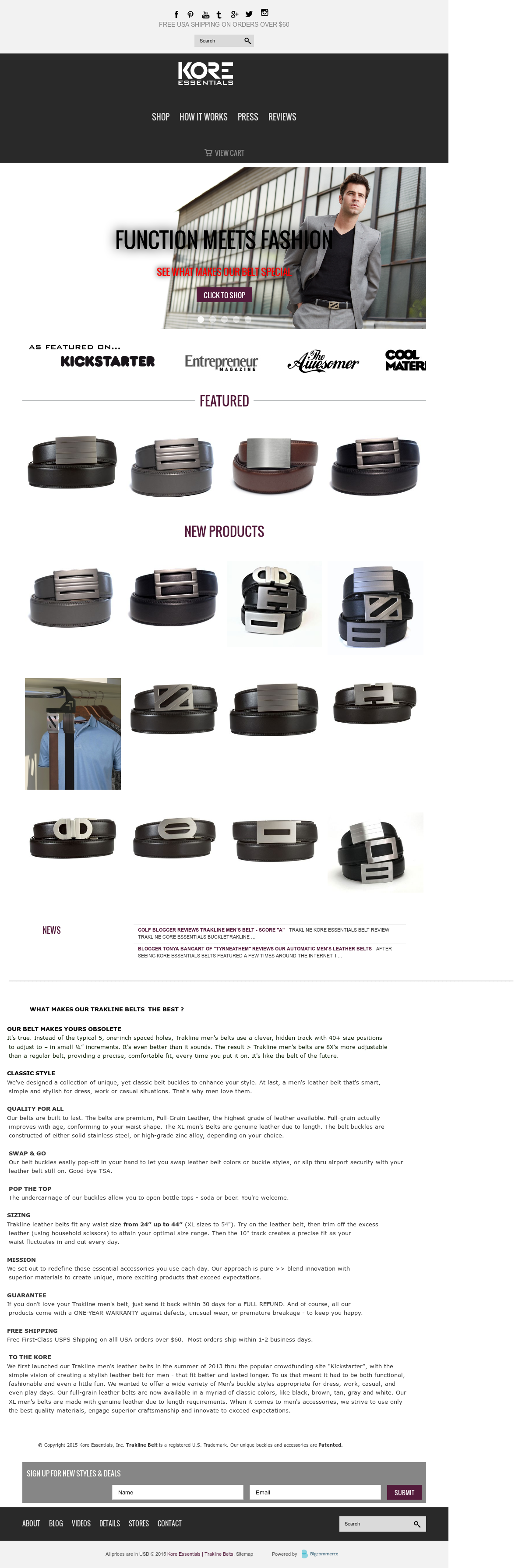 Kore Essentials S Competitors Revenue Number Of Employees Funding Acquisitions News Owler Company Profile These gun belts from blackbeard belts and kore essentials use a ratcheting type mechanism that allows you to dial in exactly how tight you want the belt. kore essentials s competitors revenue